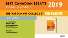 Best Canadian Essays: Toronto Launch @ The Walton | Toronto | Ontario | Canada