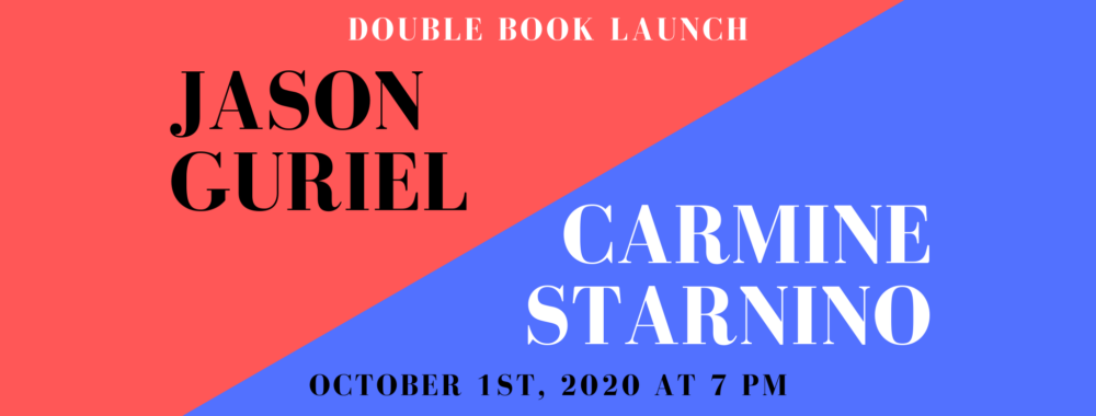 Jason Guriel and Carmine Starnino: Double Book Launch