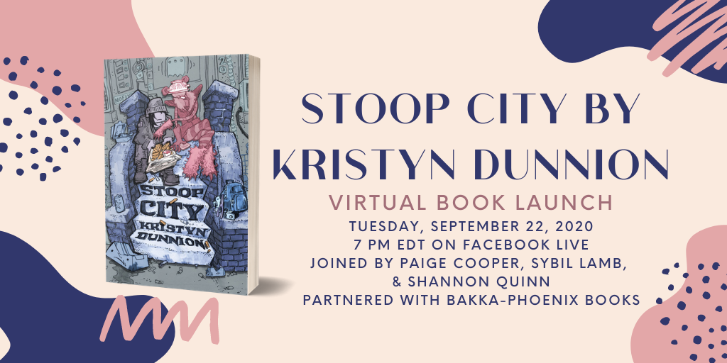 Stoop City Virtual Book Launch