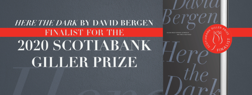Here the Dark Book Cover Giller Finalist Announcement