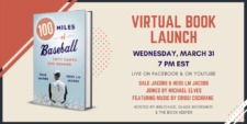 100 Miles of Baseball Virtual Book Launch
