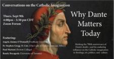 Randy Boyagoda on Conversations on the Catholic Imagination: Why Dante Matters Today