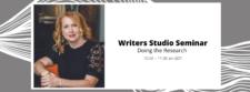 Catherine Fogarty: Writers Studio Seminar