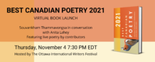 Best Canadian Poetry 2021 Virtual Launch